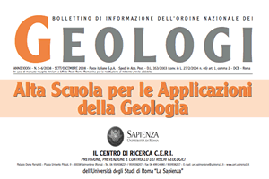 Bollettino Geologi set-dic 2008