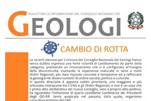 Bollettino Geologi gen-apr 2011