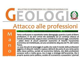 Bollettino Geologi settembre-ottobre 2011