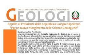 Bollettino Geologi gennaio-febbraio 2012