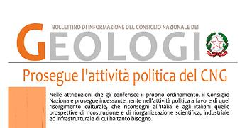 Bollettino Geologi marzo-aprile 2012