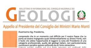Bollettino Geologi maggio-giugno 2012