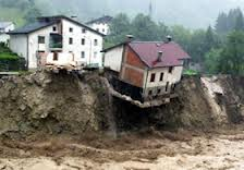 Piano Clini: sarà vietato costruire in aree a rischio idrogeologico
