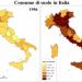 L'Italia perde terreno: consumati 8 metri quadri al secondo di suolo, più della media europea