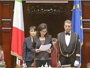 Geologi plaudono a discorso di insediamento della neo presidente Boldrini
