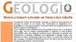 Bollettino Geologi gennaio-febbraio 2013