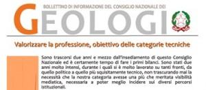 Bollettino Geologi marzo-agosto 2013
