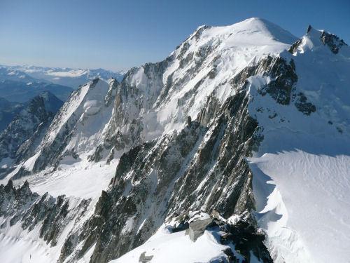 Evviva, si è alzato il Monte Bianco