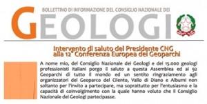 Bollettino Geologi settembre-ottobre 2013