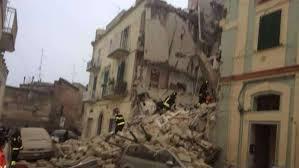 """Crollo Matera, i geologi sul patrimonio edilizio: """"messa in sicurezza urgentissima"""""""