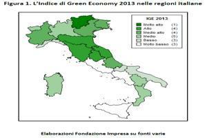 Green Economy: Trentino Alto Adige, Umbria e  Marche ai primi tre posti della classifica