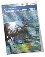 L'Università forma i geologi del petrolio