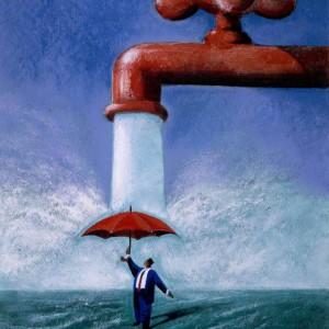Acqua, ogni giorno seimila litri a testa: ecco tutti gli sprechi nascosti