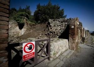 L'ultimatum della Ue per Pompei
