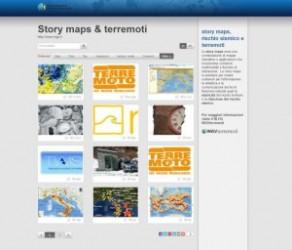"""Terremoti, le """"story maps"""" dell'INGV: mappe interattive per conoscere sismicità e rischi del nostro territorio"""