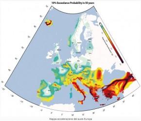 Rischio sismico, 1.100 faglie attive in Europa