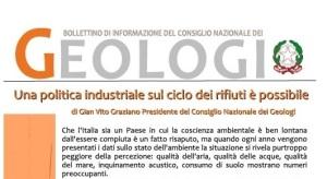 Bollettino Geologi gennaio/febbraio 2015