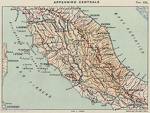 La fascia appenninica centrale è l'area col maggior tasso sismicità