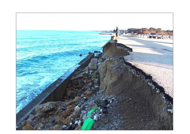 Erosione, basta somma urgenza