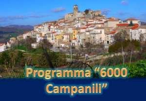 Piano 6000 Campanili, assegnati 100 milioni per altri 119 interventi