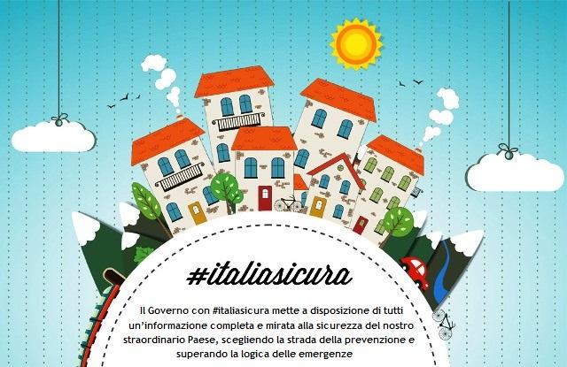 #italiasicura: lotta al dissesto idrogeologico in sintonia col rapporto  della Corte dei Conti