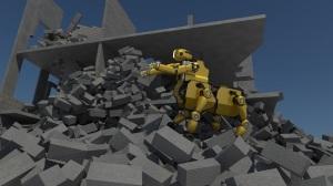"""Calamità naturali, arriva il robot """"Centauro"""""""