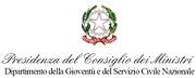 Presidenza del Consiglio dei Ministri – Dipartimento della Gioventù e del Servizio Civile Nazionale