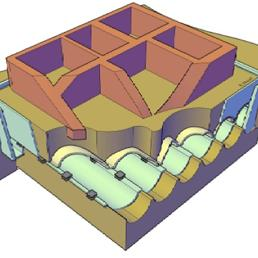 Contro i terremoti la maxi-piastra isolante dell'Enea che si «infila» sotto gli edifici