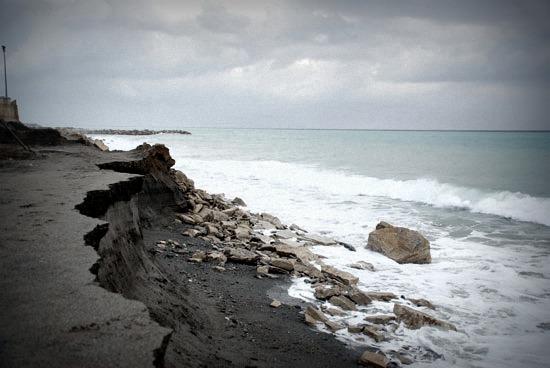 Marche sempre più a rischio erosione
