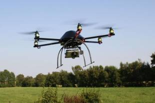 Arrivano i droni