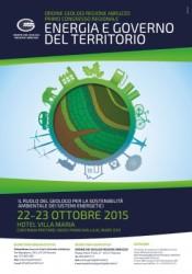 Abruzzo: energia e ambiente, geologi a congresso