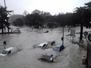 """""""Anche la pioggia ci fa paura perché il territorio è malato"""""""