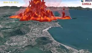 Ricostruita l'eruzione dei Campi Flegrei di 39.000 anni fa, la più catastrofica d'Europa negli ultimi 200.000 anni (Video)