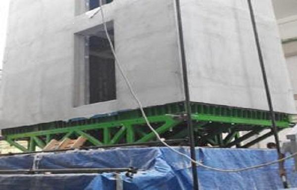 """Costruzioni a secco, all'Università di Napoli """"Elissa House"""" supera il test sismico sulla piattaforma vibrante"""