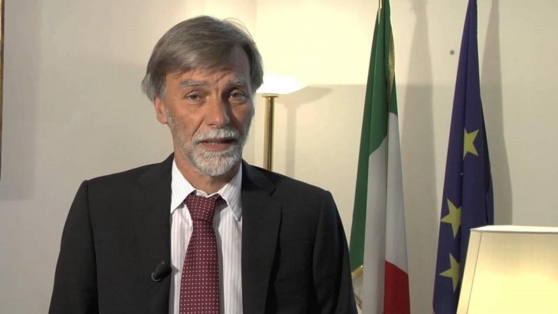 """Delrio: niente lacci al cantiere Italia """"Flessibilità Ue per cinque anni"""""""