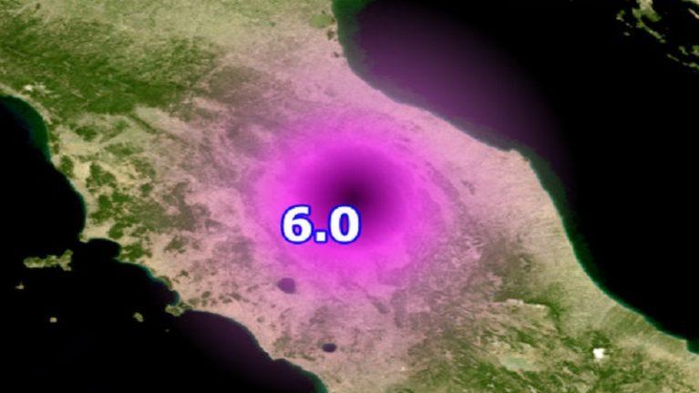 E la terra torna a tremare nel centro dell'Italia