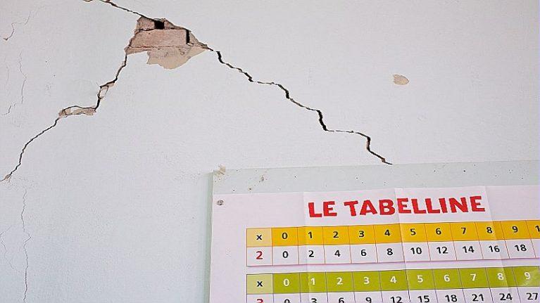 Allarme: una scuola su 3 costruita in zona sismica