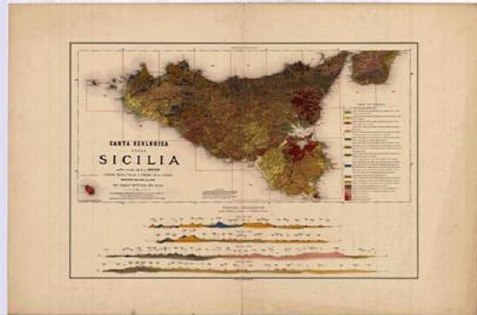 La carta della Sicilia