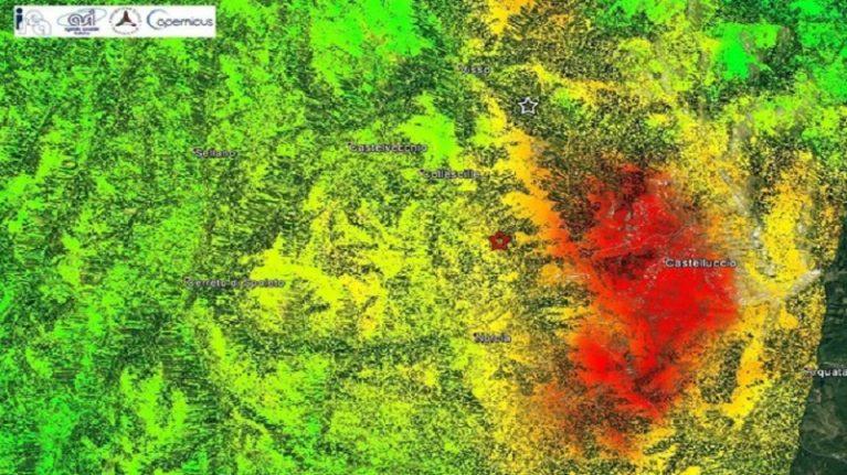 Primi risultati sul terremoto del 30 ottobre 2016 ottenuti dalle immagini radar della costellazione Sentinel-1