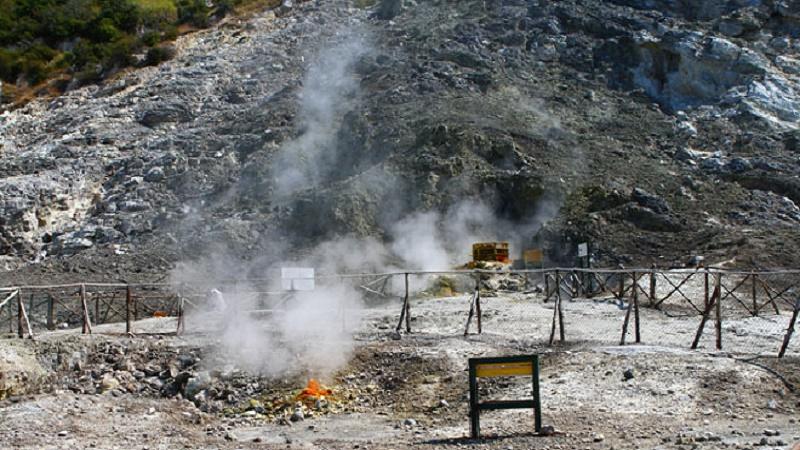 """Campi Flegrei """"sotto pressione"""" sale la concentrazione dei gas"""