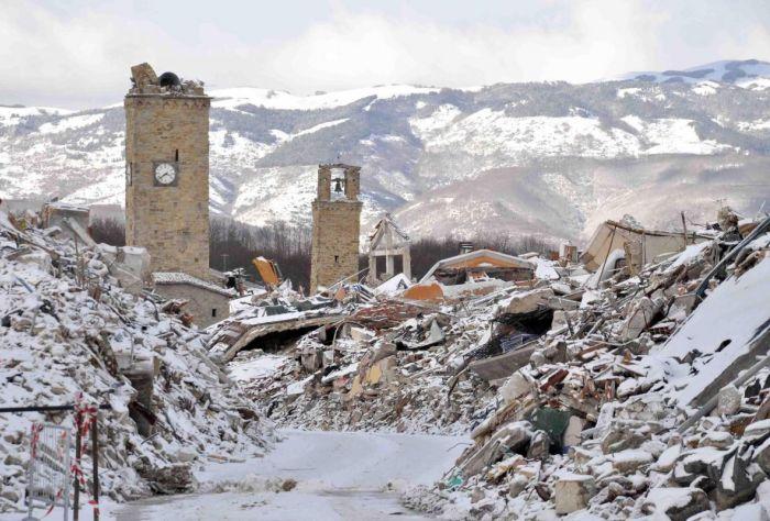 Terremoto e ricostruzione