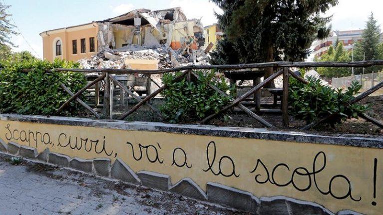 Rischio terremoto: quanta retorica sulla sicurezza nelle scuole