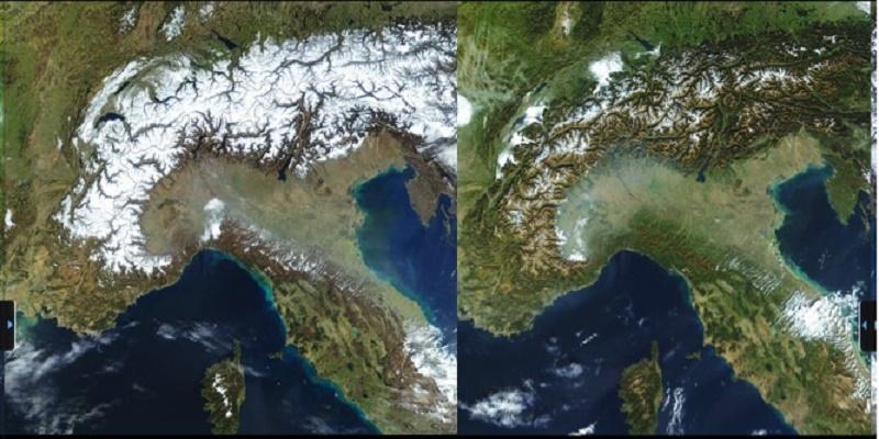 Alpi, il fango sostituirà la neve la Ue lancia l'allarme clima