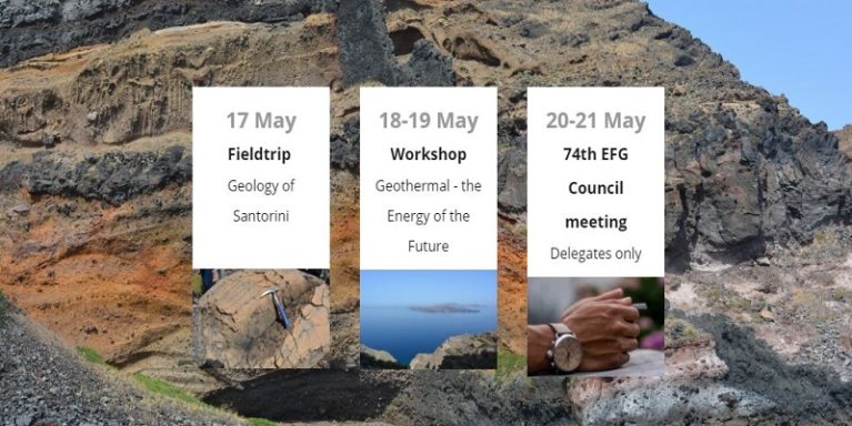 "EFG/AGG workshop ""Geothermal – The Energy of the Future"" – Santorini  (Greece)"