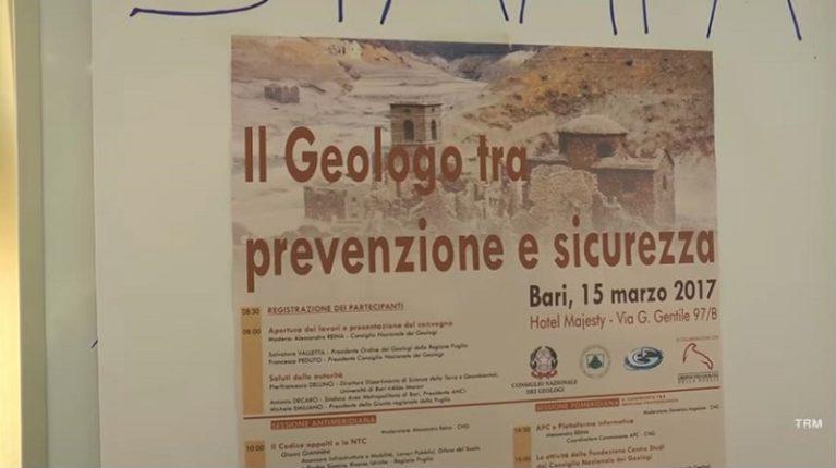 Bari. Geologi a confronto su sicurezza e prevenzione dopo eventi sismici del 24 agosto scorso