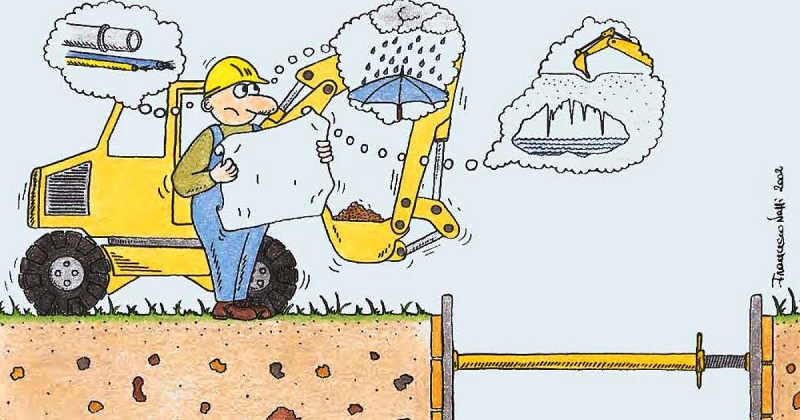 Riduzione del rischio nelle attività di scavo: pubblicata la guida Inail
