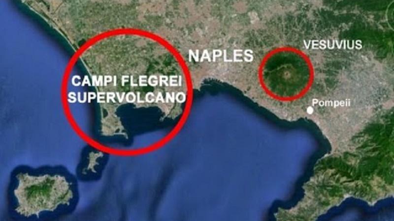 """""""Sos per il supervulcano dei Campi Flegrei"""""""