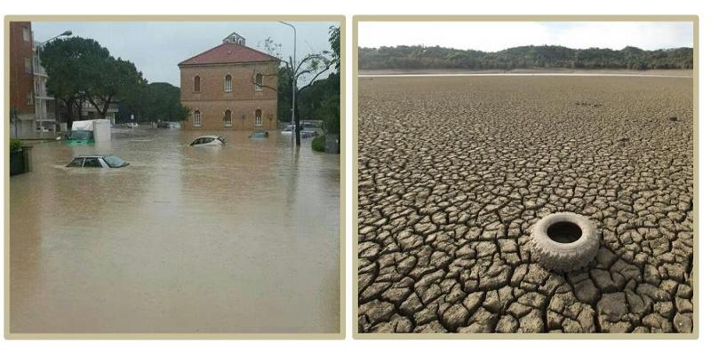 Siccità e alluvioni, come far fronte