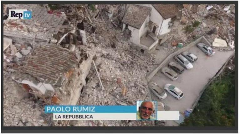 """Maturità, Rumiz: """" In Italia abbiamo perso la memoria dei disastri"""""""
