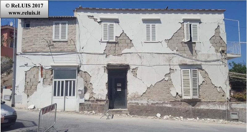 Terremoto Ischia, da ReLUIS il rapporto fotografico sui danni agli edifici